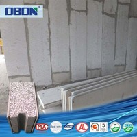 OBON prefabricated structural concrete insulated interior partition walls panel