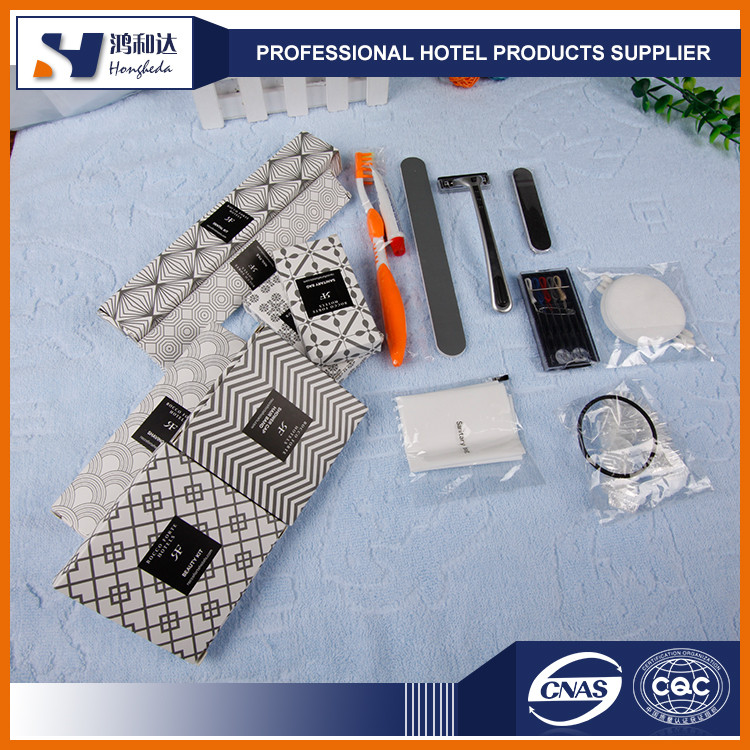 Hotel & Travelling use hotel bathroom accessories cheap hotel amenities