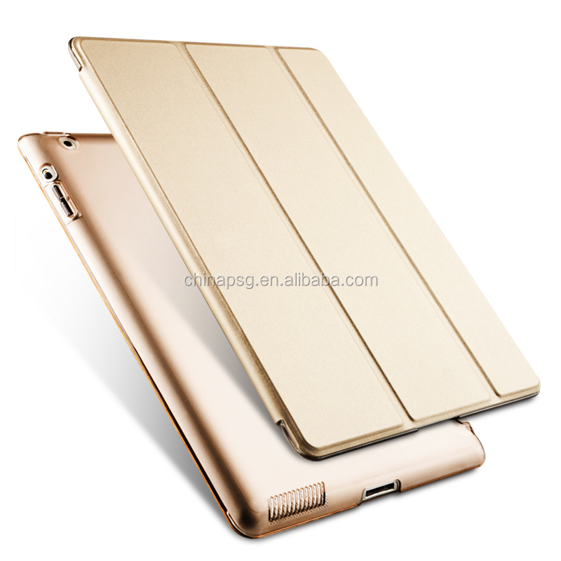For iPad Air 1/2 1 2 Case, Smart Cover Case for iPad Air 1/2 1 2 for iPad 7 All in one Gold