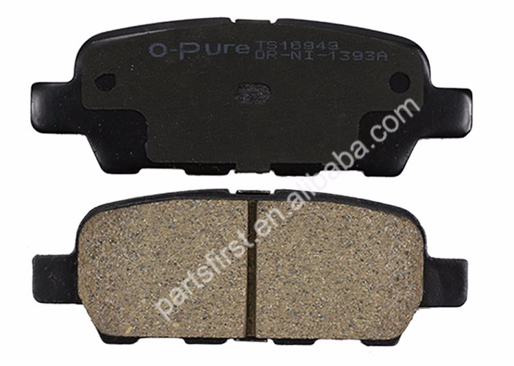 Wholesale Top Quality Car Brake Pad Ceramic Rear Chinese Auto Brake Pads For NISSAN Altima Murano Quest OE D4060-9N00B D1393