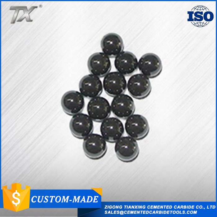 Various size blank tungsten carbide cobalt alloy ball/oem polished tungsten carbide ball