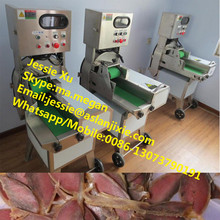Good quality SUS cooked meat cutting machine/cooked meat slicer