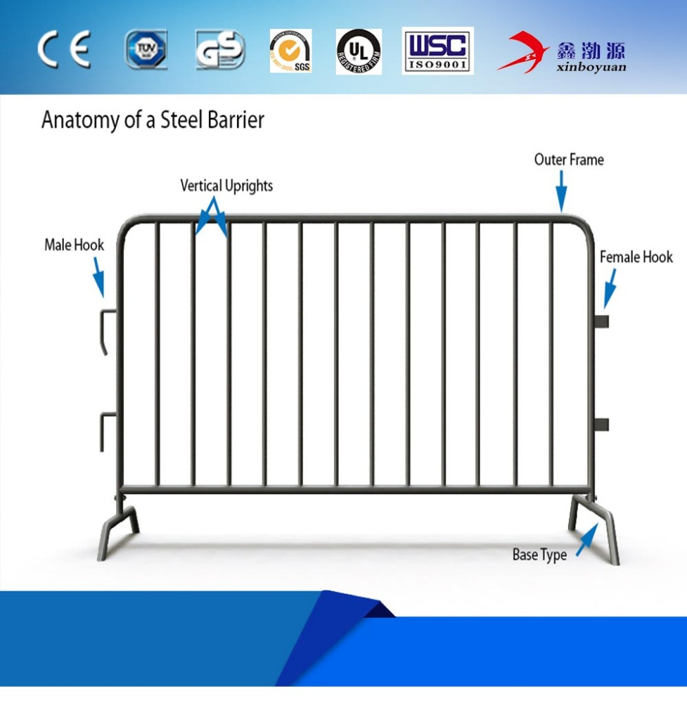Used Crowd Control Traffic Barrier