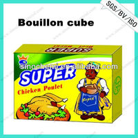 Low Price Halal chicken bouillon cube with no msg