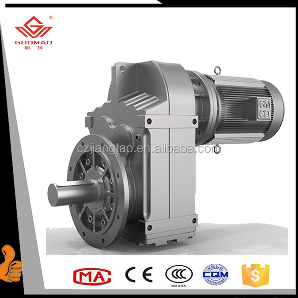 Supreme Quality F Series Parallel Shaft Helical Bevel Cylindrical Reducer Gearbox / Gearbox Transmission