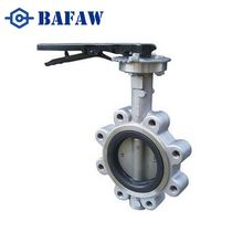 Professional manufacturers high quality complete stainless steel clamped kitz butterfly valve