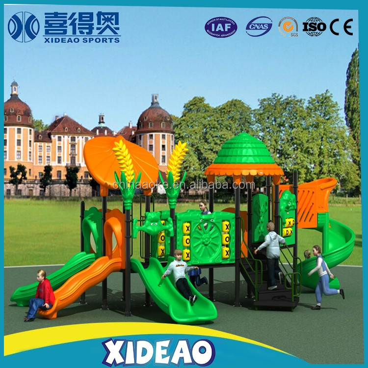 outdoor playground equipment outdoor plastic kids slider