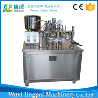 high efficiency semi automatic paste cream filling and sealing machine