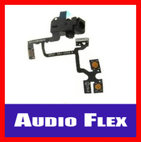 New High Quality Audio Jack Flex Cable Headphone - Spare Part Repair for IPhone 4 4S
