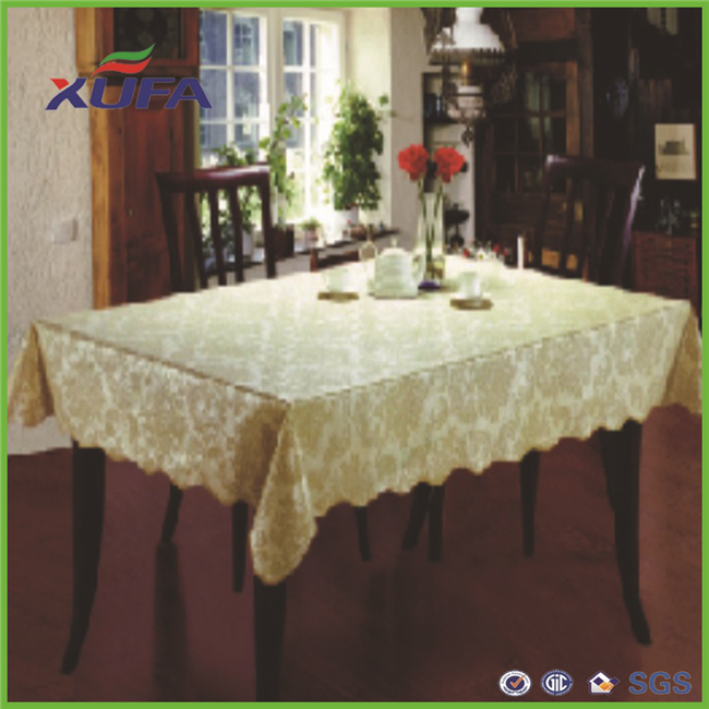 XUFA Manufacturers and suppliers blister packing hard super resin protective layer lace table cloth
