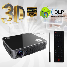Easy Carry & Install 1080p 3D LED Projector Interactive Smart Projector For Schools And Office