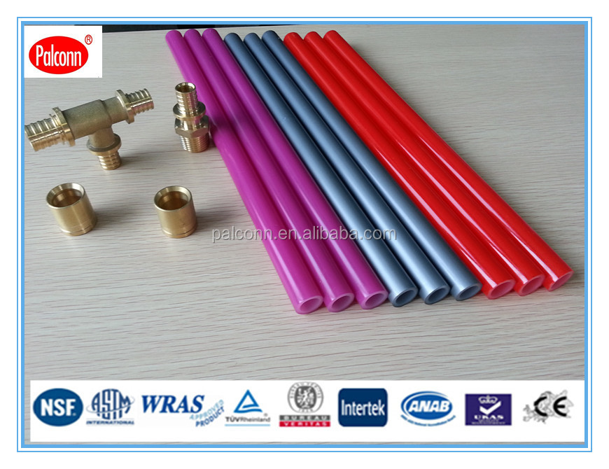 PEX/EVOH Multipurpose pipes designed for systems of central radiator heating
