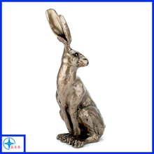 Sitting Hare Small 25cm tall rabbit animal Sculpture