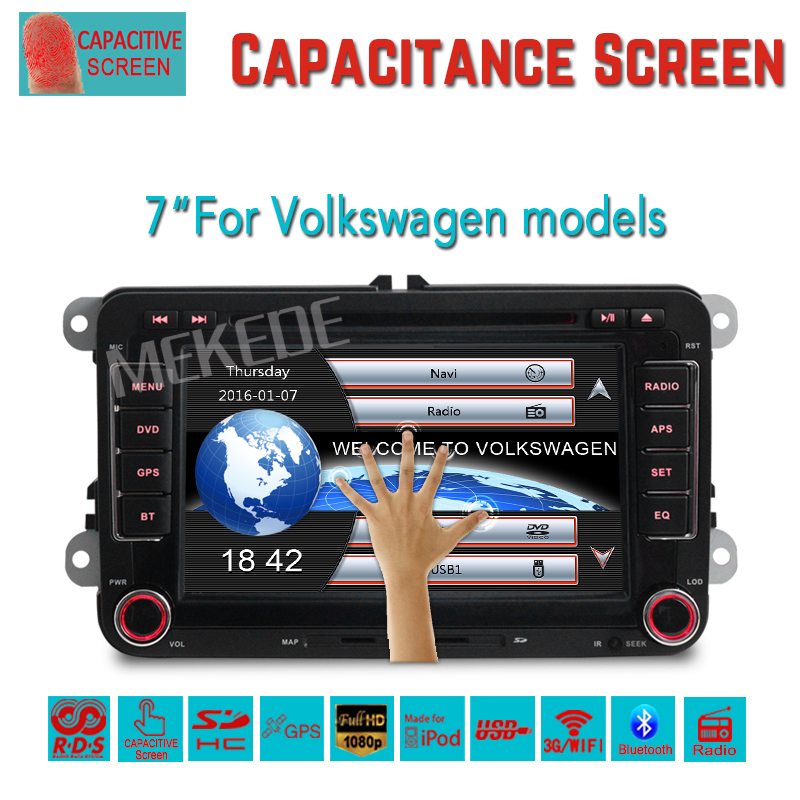 ReadyStock Factory sell OEM fit radio rns510 VW passat jetta polo Car DVD GPS Stereo golf car multimedia RDS