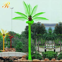 2015 Wholesale outdoor artificial palm tree leaves hall use