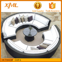 Hot Sale New Style Outdoor Furniture Modern Luxury Rattan Sofa Set