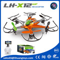 2016 New Product LH X12WF 2.4GHz Remote Wifi Control Dron FPV Quadcopter Drone with Camera,FPV Drone Hexacopter with Auto Back