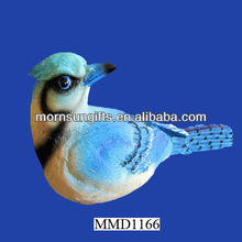 Wholesale polyresin blue bird figurines