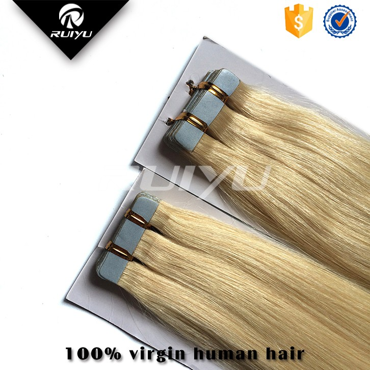 2015 steam human hair high quality pu hair