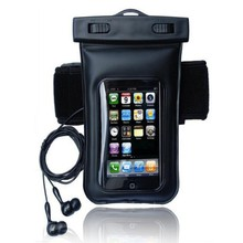 Waterproof Armband Dry Case Bag with Earphone for Smart phone