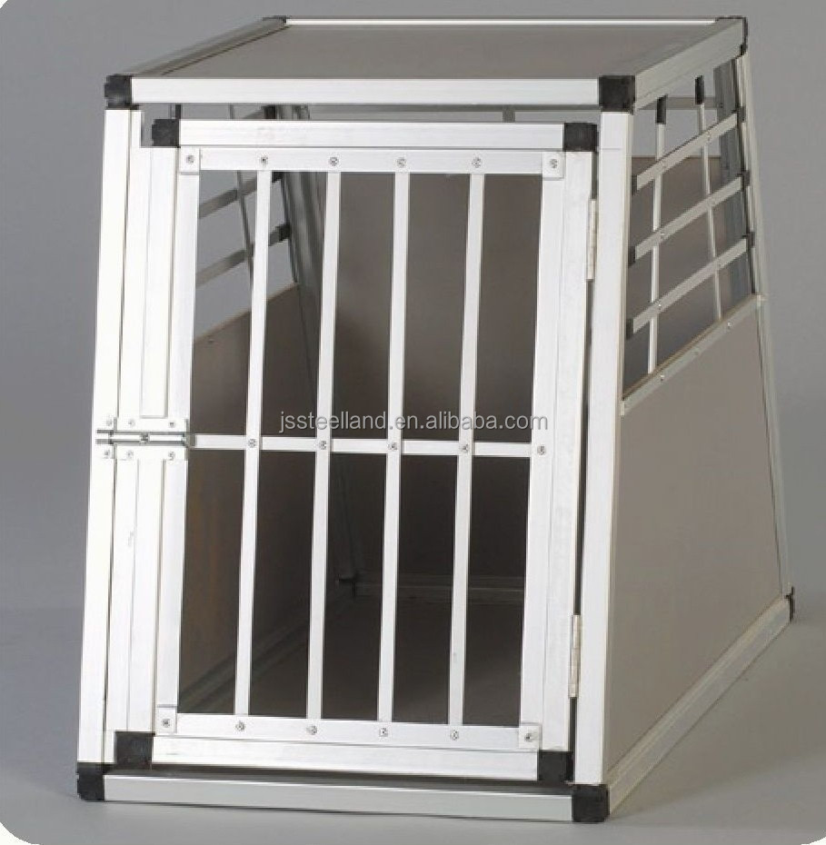foldable aluminum dog house pet kennel carrier