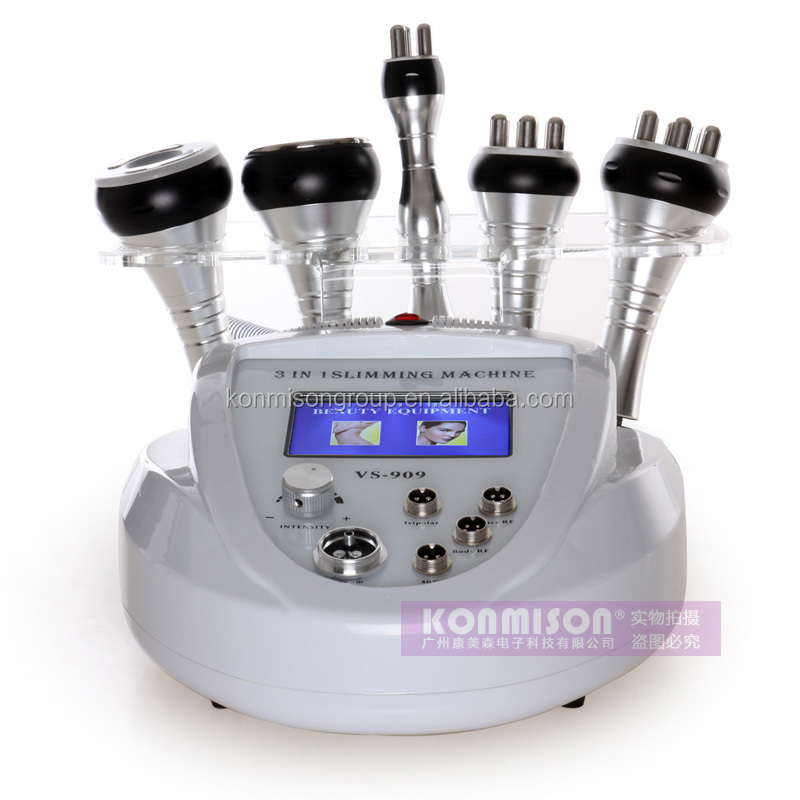 Strong energy shock wave cavitation rf g5 slimming machine for sale