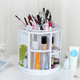 Plastic Tabletop Spinning Cosmetic Makeup Storage Box, Gift Ideas for Friends