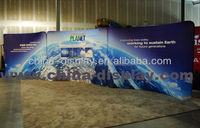 Trade Show Display portable stage trade show booth Wedding press conference backdrop Fabric Trade Show backdrop
