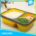 Factory price non-sticking silicone hot food delivery containers