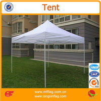 3x3m outdoor advertising pop up canopy folding tent gazebo with half sidewalls