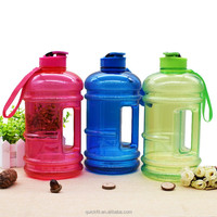 Hot sale bpa free cheap price 2.2l clear large plastic strong and handsome bottle