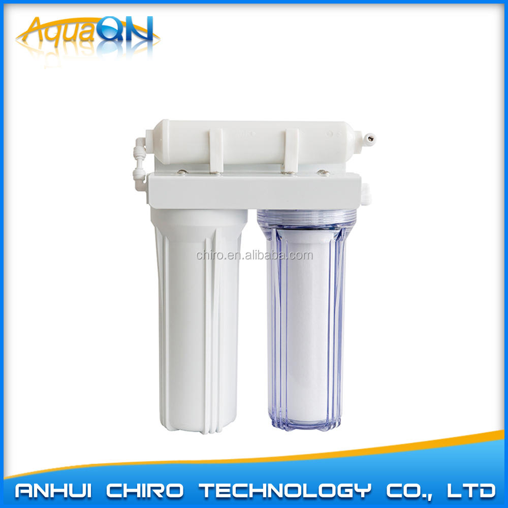 Household counter top 3 stages water purifier / filter/water treatment