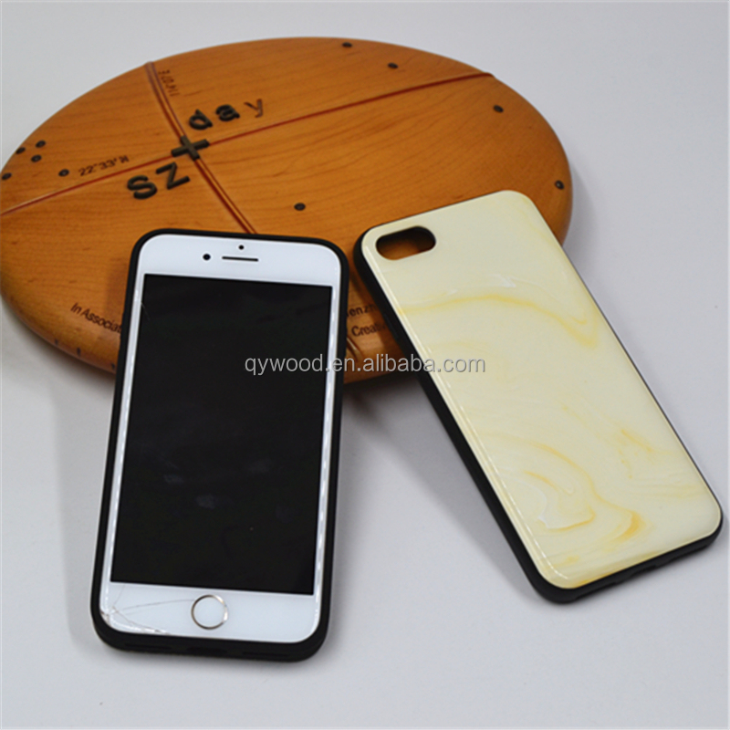 Natural marble Sublimation 2D Phone Case,mobile phone accessories