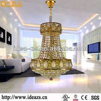 crystal ship chandelier garden decorative pineapple modern copper chandelier