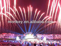 "2"" wave tiger tail pyrotechnics firework show for celebration"