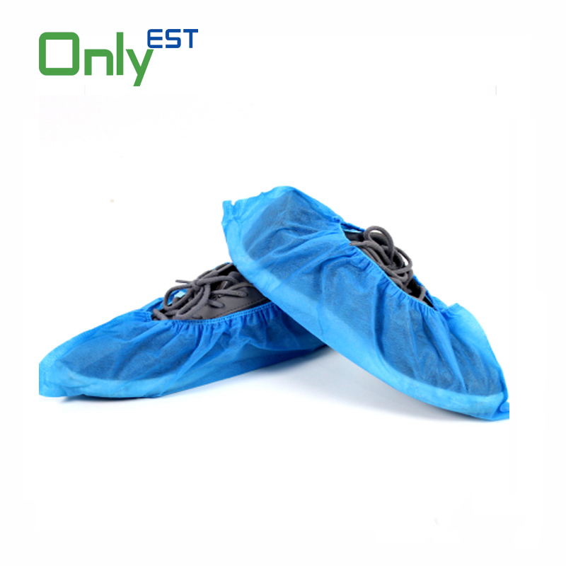 china supplier cheap price Non woven PP/CPE/PE disposable shoe covers