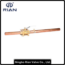 Brass Female Medical Gas Ball Valve with Locking Device