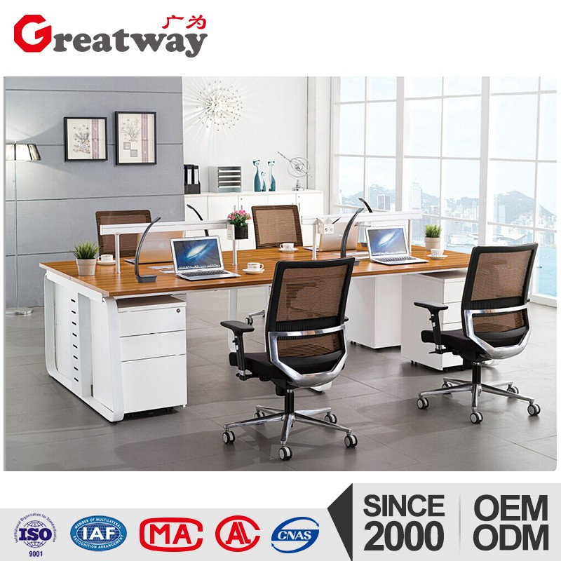 french style China top 10 oem steel particle board office furniture