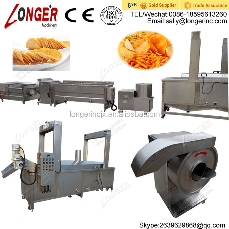 Best Price French Fried Potatoes Production Line French Fries Making Machine
