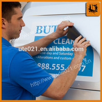Outdoor advertising magnetic board sticker direction sign sticker for promotion