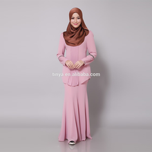 OEM factory islamic clothing manufacturer baju kebaya muslim
