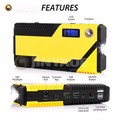 69800 mAh mini booster lithium 4 usb multi-function jump starter kit with hammer and compass