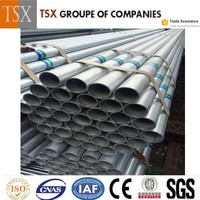 TSX Galvanized steel pipes for irrigation,scaffolding Steel Pipe gi steel pipe