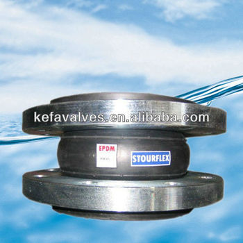 Single Bellow Rubber Expansion Joints with flange
