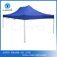 Buy Collapsible canopy tent, hexagon aluminum frame and folding ...