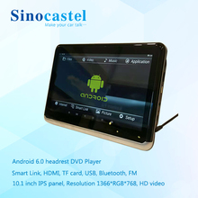 10 inch Big Screen Android WIFI Headrest Monitor support 1080P HD Video HDMI USB SD