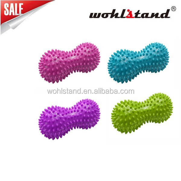 2015 Wohlstand NEW Fitness Gym Power Training Mini Soft Ball Peanut Massage Ball