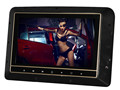 New 9 inch Clip-on headrest DVD player with changeable cover and touch button