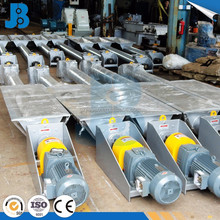 High speed automatic screw conveyor shaft seals