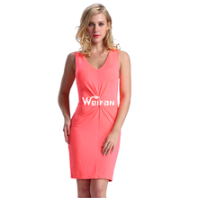 China factory made wholesale ladies new model dress & ladies fashion cotton dress materials in jaipur bodycon dress
